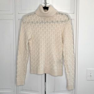 Ralph Lauren Collection Cream Cashmere Sweater